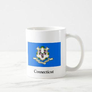 Flagge von Connecticut Kaffeetasse
