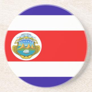 Flagge von Costa Rica Sandstein Untersetzer