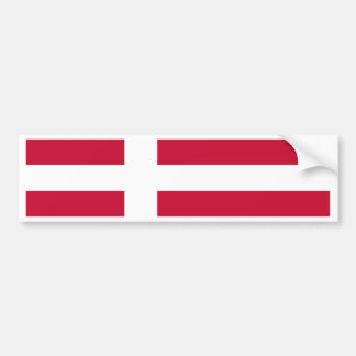 Flagge von Dänemark Autoaufkleber