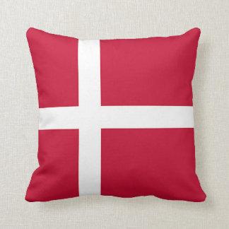 Flagge von Dänemark - skandinavisches Kreuz Zierkissen