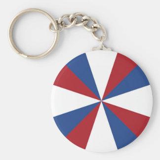Flagge von den Niederlanden Schlüsselanhänger