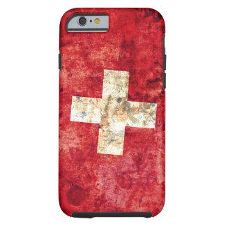 Flagge von der Schweiz Tough iPhone 6 Hülle