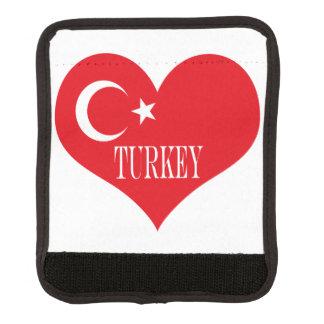 Flagge von der Türkei Gepäck Markierung