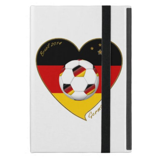 Flagge von DEUTSCHLAND FUSSBALL von Nationalelf 20 iPad Mini Schutzhüllen