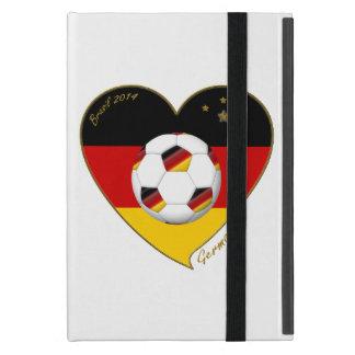 Flagge von DEUTSCHLAND FUSSBALL von Nationalelf 20 iPad Mini Etui