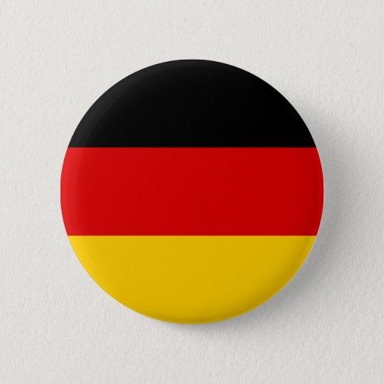 Flagge von Deutschland Runder Button 5,1 Cm