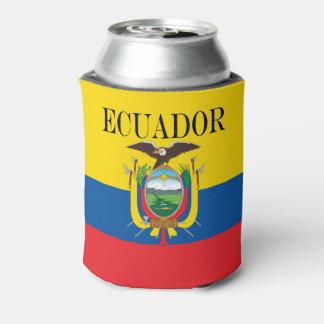 Flagge von Ecuador Dosenkühler