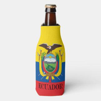Flagge von Ecuador Flaschenkühler