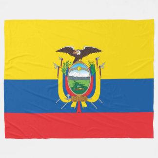Flagge von Ecuador Fleecedecke