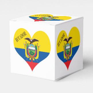 Flagge von Ecuador Geschenkschachtel