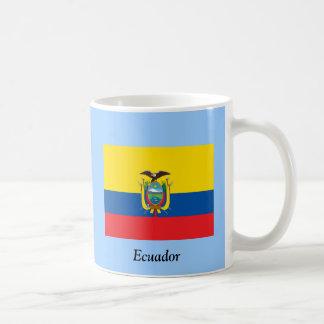 Flagge von Ecuador Kaffeetasse
