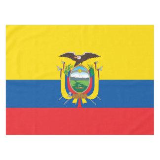 Flagge von Ecuador Tischdecke