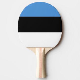 Flagge von Estland-Klingeln Pong Paddel Tischtennis Schläger