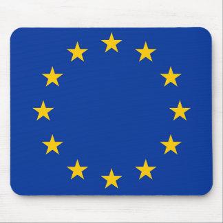 Flagge von Europa, europäische Flagge Mousepad