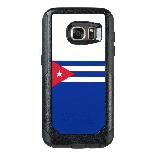Flagge von Fall Kubas Samsung OtterBox OtterBox Samsung Galaxy S7 Hülle