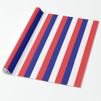 Flagge von Frankreich-Franzosen Tricolore Geschenkpapier