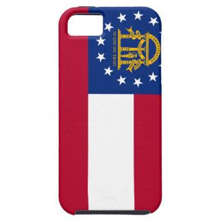 Flagge von Georgia iPhone 5 Etuis