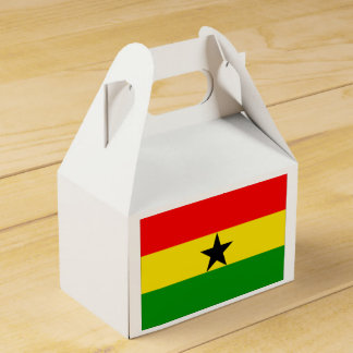 Flagge von Ghana Geschenkschachtel