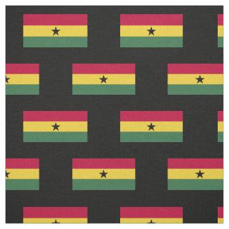 Flagge von Ghana Stoff