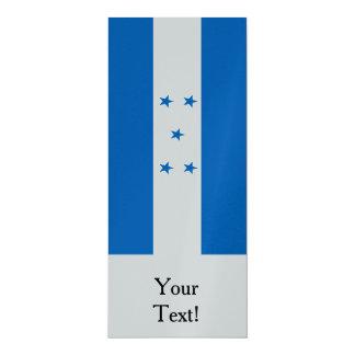 Flagge von Honduras Karte