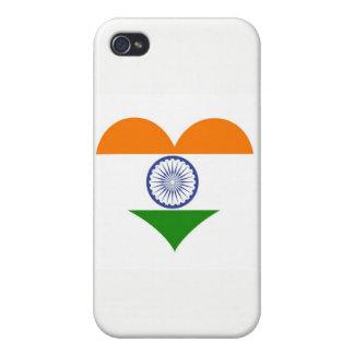 Flagge von Indien Ashoka Chakra iPhone 4 Etuis