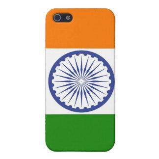Flagge von Indien Ashoka Chakra iPhone 5 Schutzhülle