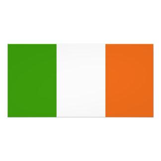 Flagge von Irland Kunst Fotos