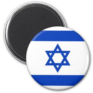 Flagge von Israel Runder Magnet 5,7 Cm