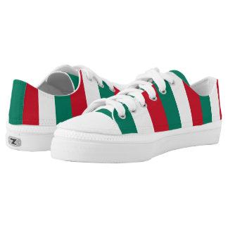 Flagge von Italiener Italiens Italien Niedrig-geschnittene Sneaker