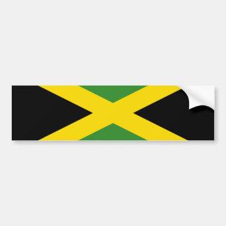 Flagge von Jamaika Autoaufkleber
