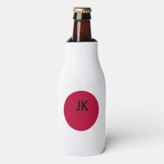 Flagge von Japan oder von Hinomaru Flaschenkühler