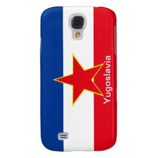 Flagge von Jugoslawien Galaxy S4 Hülle