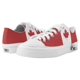 Flagge von Kanada - Drapeau DU Kanada Niedrig-geschnittene Sneaker