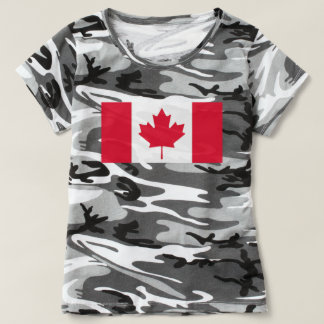 Flagge von Kanada - Drapeau DU Kanada T-shirt