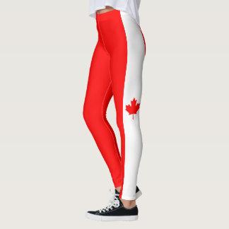 Flagge von Kanada-Gamaschen Leggings