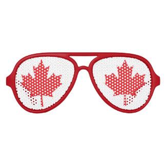 Flagge von Kanada Piloten Sonnenbrillen