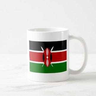 Flagge von Kenia Kaffeetasse