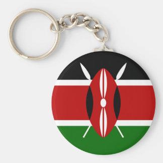 Flagge von Kenia Keychain Schlüsselanhänger