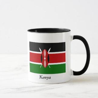 Flagge von Kenia Tasse