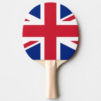 Flagge von Königreich-Klingeln Pong Paddel Tischtennis Schläger
