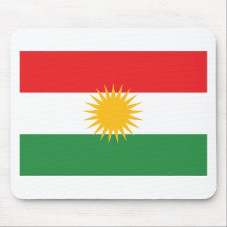 Flagge von Kurdistan; Kurde; Kurdisch Mauspads