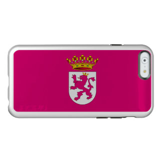 Flagge von Leonese Nationalismus-Silber iPhone Incipio Feather® Shine iPhone 6 Hülle