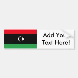 Flagge von Libyen Autoaufkleber