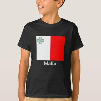 Flagge von Malta T-Shirt