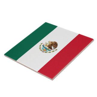 Flagge von Mexiko Keramikfliese