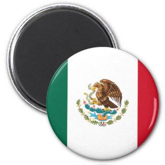 Flagge von Mexiko Runder Magnet 5,7 Cm