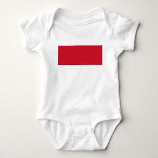 Flagge von Monaco- - Drapeaude Monaco Baby Strampler