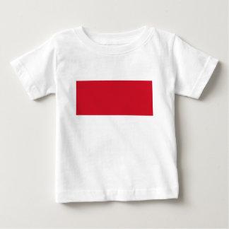 Flagge von Monaco- - Drapeaude Monaco Baby T-shirt