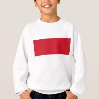 Flagge von Monaco- - Drapeaude Monaco Sweatshirt