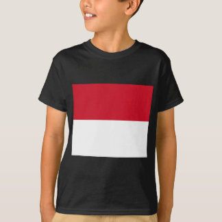 Flagge von Monaco- - Drapeaude Monaco T-Shirt